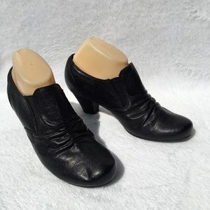 Bass Black Ankle Boots